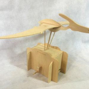 Pteranodon wooden automata
